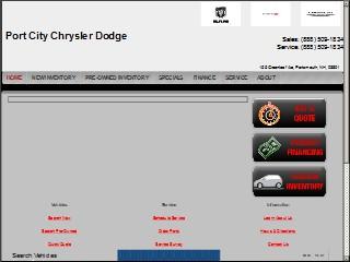 Port City Dodge >> Port City Chrysler Dodge 155 Greenleaf Ave Portsmouth